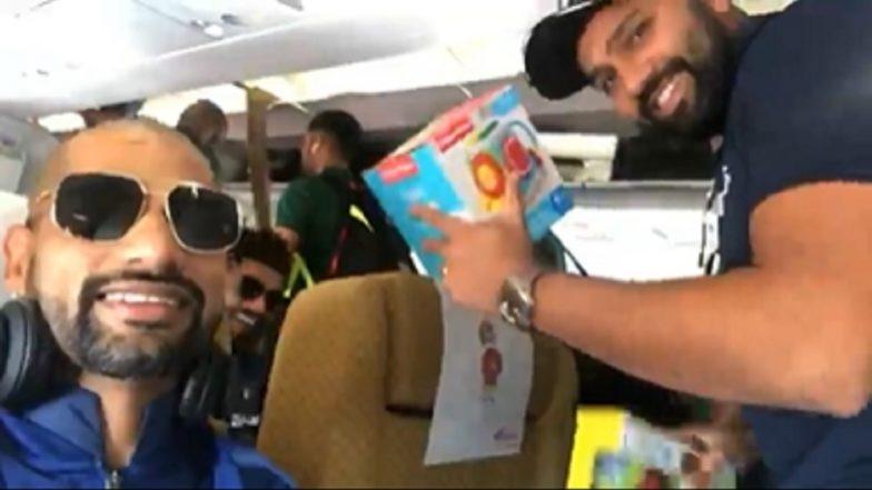 IND vs SA 2019: रोहित शर्मा याच्या लाडक्या लेकीच्या खेळण्यांसोबत शिखर धवन, रवींद्र जडेजा ची धमाल कॅमेऱ्यात कैद, (Video)
