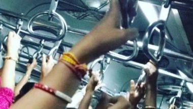 मुंबई लोकलमध्ये प्रवासादरम्यान कडाक्याचे भांडण, सहप्रवासी महिलेच्या हाताचा चावा घेत ओरबाडले
