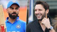 IND vs SA 2nd T20I: रेकॉर्ड तोड खेळीसाठी ICC ने केले विराट कोहली चे कौतुक, शाहिद आफ्रिदी ने केले 'हे' मोठे विधान