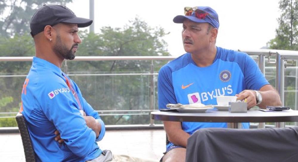 IND vs SA 1st T20: कॉफी विद शिखर', रवि शास्त्री यांनी धवनला गुरु मंत्र देतानाचा 'हा' Photo केला शेअर, पहा