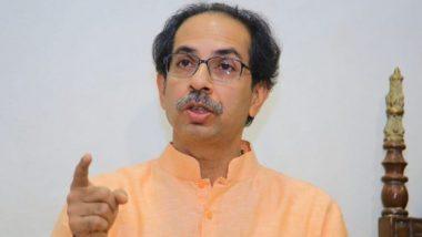 'आम्ही विकासाचे मारेकरी नाही, महाराष्ट्राचे प्रेमी आहोत' मुख्ममंत्री उद्धव ठाकरे यांनी विरोधकांना लगावला टोला