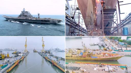 मुंबई: भारतीय नौदलाच्या सर्वात मोठ्या ड्राय डॉक चे संरक्षण मंत्री राजनाथ सिंह यांच्या हस्ते उदघाटन  (Watch Video)
