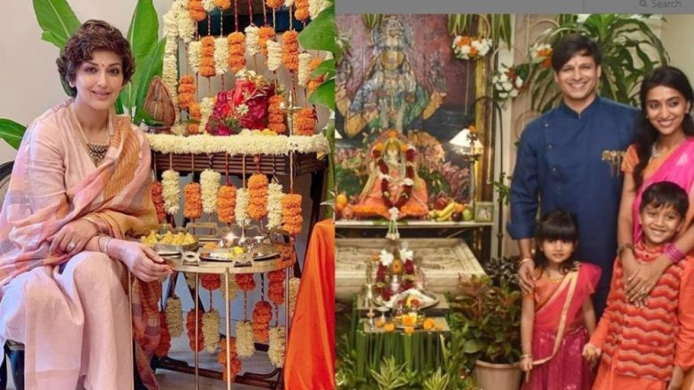 Ganeshotsav 2019: बॉलीवूडमध्ये गणेशोत्सवाची धूम, सेलिब्रिटींच्या घरी बाप्पांचे आगमन (Photos)