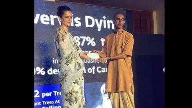कंगना रनौतचा सामाजिक कार्यात हातभार; कावेरी नदी वाचवण्यासाठी तब्बल 42 लाख रुपयांची मदत