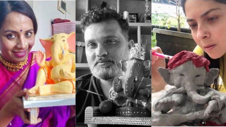Ganeshotsav 2019: मराठी कलाकारांच्या घरी रंगले Eco- Friendly गणेशोत्सव सेलिब्रेशन; राकेश बापट, सोनाली कुलकर्णी, रवी जाधव यांनी स्वतः साकारले बाप्पा