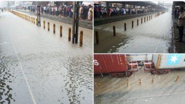 घाटकोपर ते कल्याण स्लो मार्गावर लोकल रवाना; Maharashtra Monsoon 2019 Live Updates