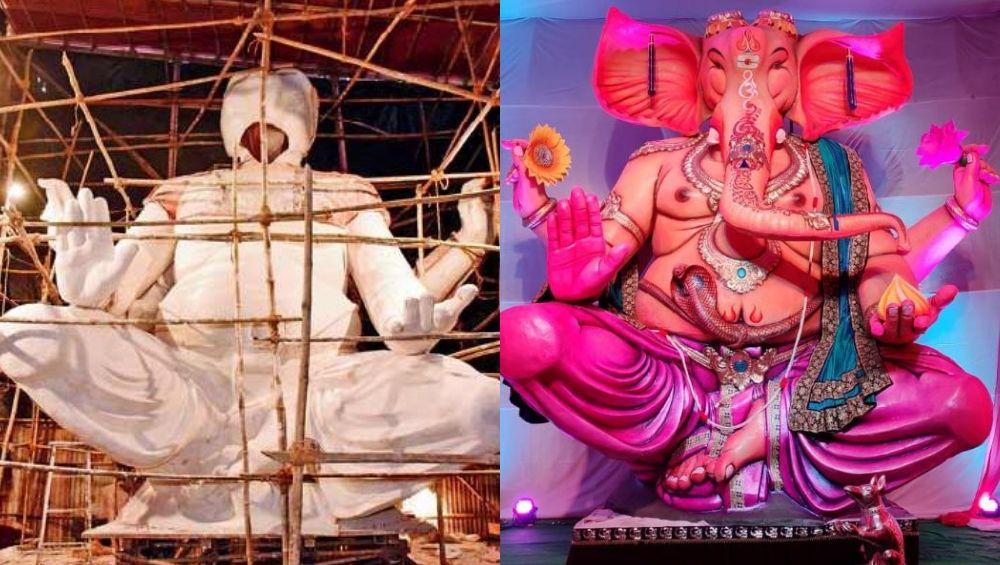 Ganeshotsav 2019: तेजुकाया मंडळाच्या 22 फूट उंच लगद्याच्या बाप्पाची Making कहाणी; मूर्तिकार राजेंद्र झाड यांच्याशी Exclusive बातचीत