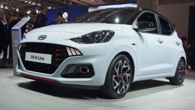 स्पोर्टी लूक सह जबरदस्त फिचर्स असलेली Hyundai i10 N Line लवकरच होणार भारतात लाँच