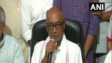 नरेंद्र मोदी, अमित शहा यांच्या दबावामुळे महाराष्ट्रात राष्ट्रपती राजवट लागू- दिग्विजय सिंह