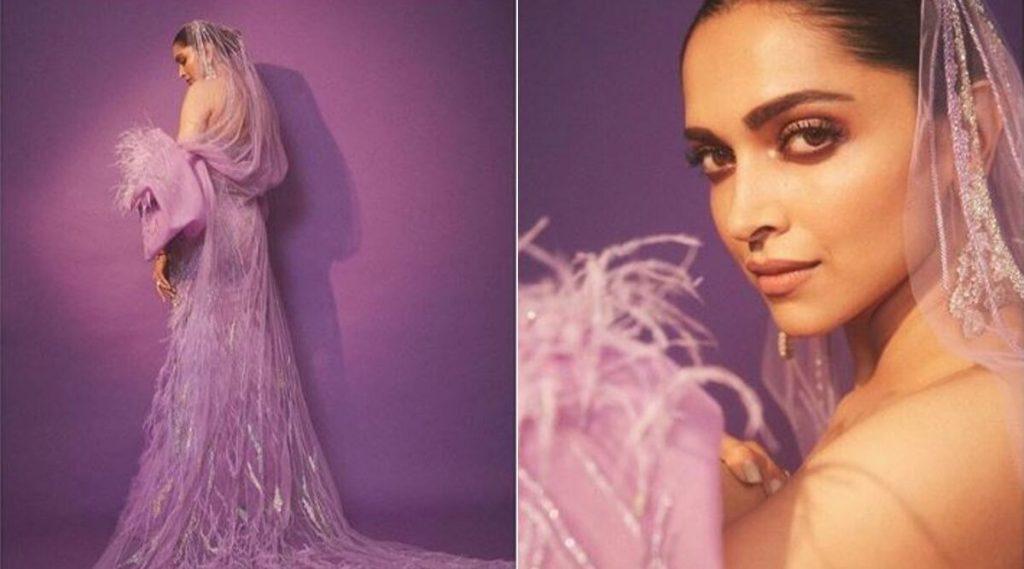 अभिनेत्री दीपिका पादुकोणचा जांभळ्या गाऊन मधील हॉट अवतार बघून पती रणवीर सिंह झाला घायाळ, दिली अशी हटके प्रतिक्रिया