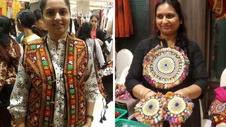 Navratri Fashion Trends 2019:  गरब्याची तयारी करताय, मग यंदा बाजारात आलेला कपडे-दागिन्यांची फॅशन ट्रेंड एकदा पाहाच