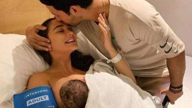 अभिनेत्री Amy Jackson ने दिला एका गोंडस मुलाला जन्म, सोशल मिडियावर शेअर केला चिमुकल्याचा पहिला फोटो