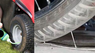 Anti Puncture Solution: टायर पंक्चरवर नवा उपाय; एकदा हे लिक्विड भरल्यास आयुष्यभर 'नो टेन्शन'; जाणून घ्या फायदे आणि तोटे