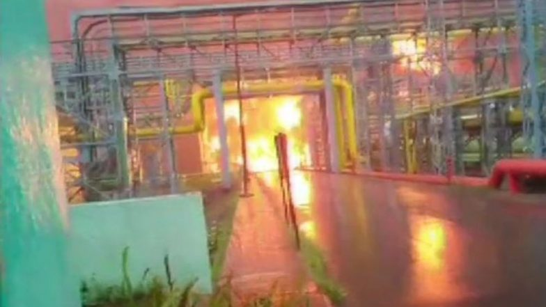 Uran Fire: उरण जवळ ONGC प्लांटला भीषण आग; कामगार गंभीर जखमी