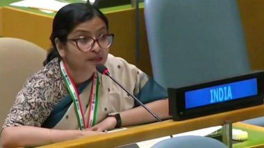 संयुक्त राष्ट्रात भारताकडून पाकिस्तानला कडक प्रत्त्युत्तर; Right To Reply अंतर्गत इम्रान खान यांच्या भडकाऊ विधानांवर विदिशा मैत्रा यांच्याकडून प्रतिक्रिया
