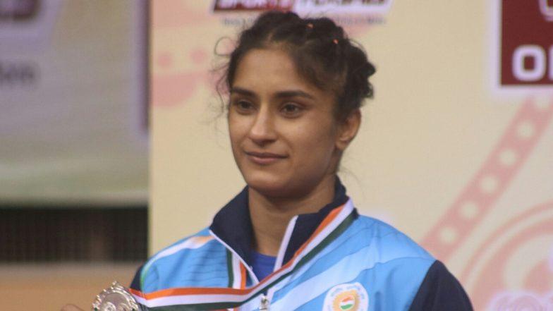 विनेश फोगाट चा धमाका, 2020 ऑलिम्पिकसाठी पात्र ठरलेली पहिला भारतीय कुस्तीपटू; जागतिक स्पर्धेत कांस्यपदकापासून एक पाऊल दूर