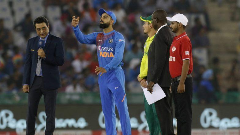 IND vs SA 3rd T20I: टॉस जिंकून भारताची पहिले बॅटिंग, टीम इंडियाच्याPlaying XI मध्ये कोणताही बदल नाही