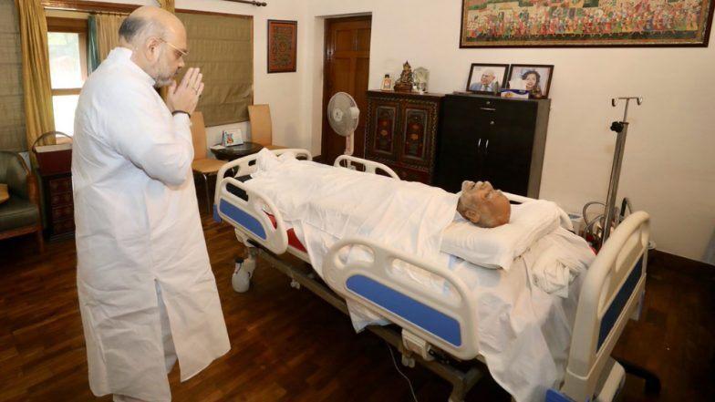 Ram Jethmalani Dies: पंतप्रधान नरेंद्र मोदी, सोनिया गांधी यांच्या सह दिग्गजांकडून  राम जेठमलानी यांना श्रद्धांजली; अमित शहा यांनी घेतले राहत्या घरी अंतिम दर्शन