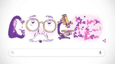 हान्स ख्रिश्चन ग्रॅम यांचा 166 वा स्मृतिदिन: Hans Christian Gram या मायक्रोलॉजिस्टच्या 'Gram Stain' ला सलामी देणारे खास  Google Doodle