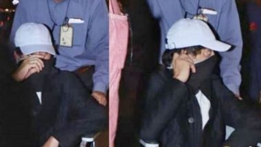 अभिनेता इरफान खान विमानतळावर व्हिलचेअरवरुन तोंड लपवत जाताना दिसल्याने चाहत्यांना चिंता