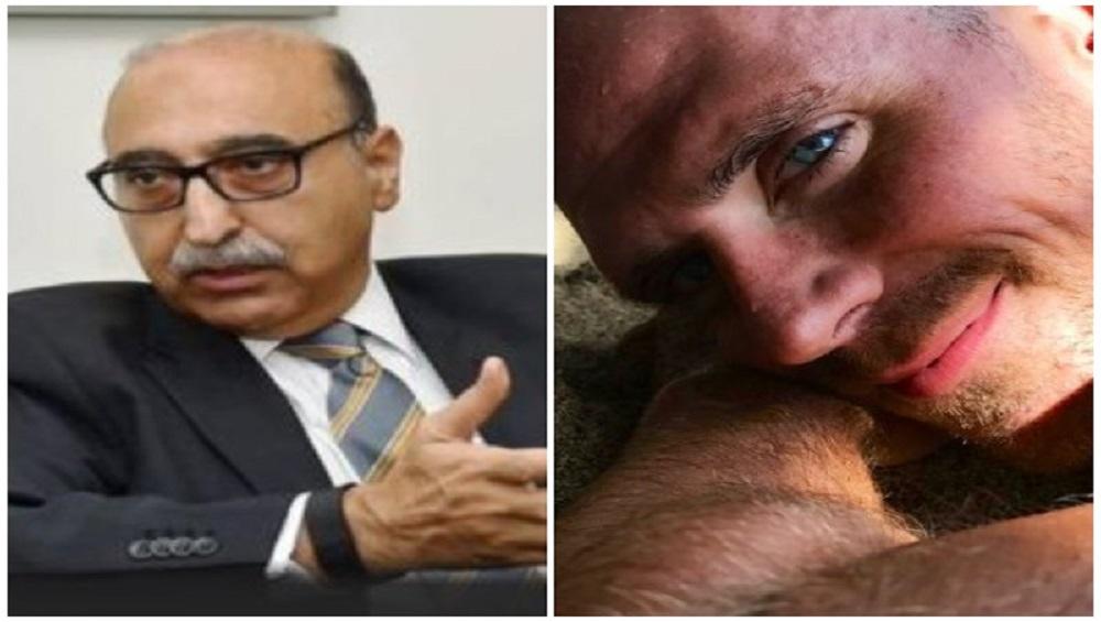 पॅलेट गनपीडित तरुण म्हणून पाकिस्तानचे माजी राजदूत अब्दुल बासित यांनी Retweet केला पॉर्न स्टार Johnny Sins याचा फोटो
