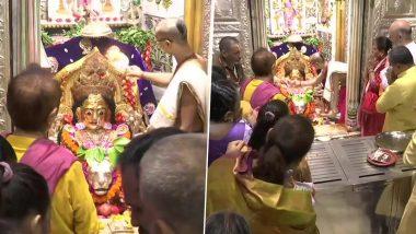 Navratri 2019:  मुंबादेवी मंदिरासह देशभर देवीच्या मंदिरात आज 'दुर्गाष्टमी' चा उत्सव