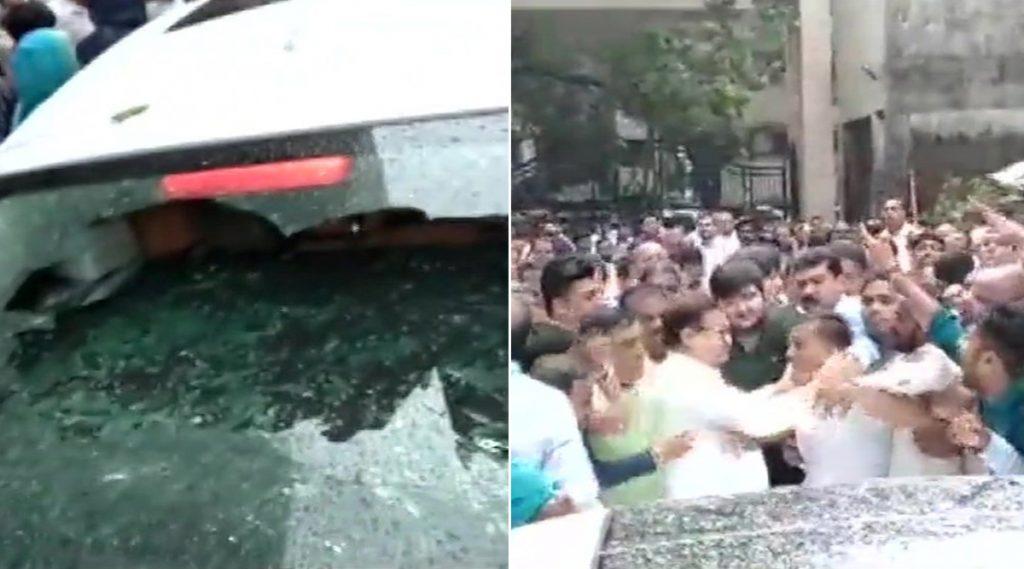 महाराष्ट्र विधानसभा निवडणूक 2019: भाजपा कार्यकर्त्यांचा पराग शहा यांच्या गाडीवर हल्ला; प्रकाश मेहता, विनोद तावडे यांचं तिकीट कापल्याने कार्यकर्ते आक्रमक