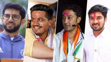 महाराष्ट्र विधानसभा निवडणूक 2019 निकाल: आदित्य ठाकरे, रोहित पवार, संदीप क्षीरसागर, ऋतुराज पाटील यापैंकी हे युवा नेते विजयी उंबरठ्यावर