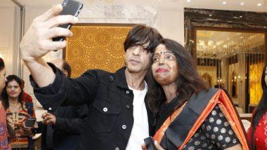 अॅसिड हल्ल्यातील पीडितांची भेट घेऊन अभिनेता शाहरुख खानने घेतला दिवाळीचा आनंद