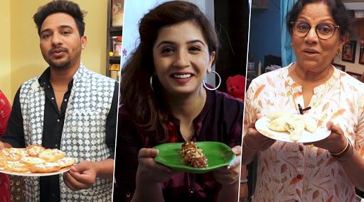 Diwali 2019: शकुंतला नरे, निखील राऊत, स्नेहलता वसईकर या मराठी सेलिब्रिटींचा पहा हटके फराळाचा पदार्थ (watch video)