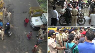 मुंबई: आरे कॉलनी परिसरात पोलिसांकडून कलम 144 अंतर्गत जमाव बंदी लागू; वाहनांना देखील बंदी
