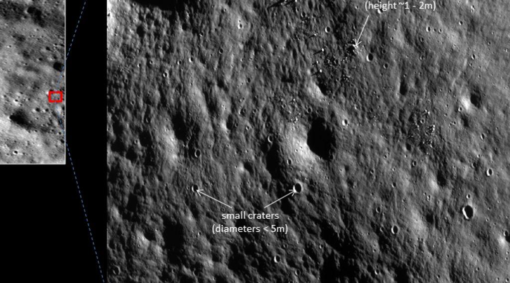 ISRO ने शेअर केले चांद्रयान 2 च्या ऑर्बिटर ने पाठवले चंद्राचे नवे फोटो