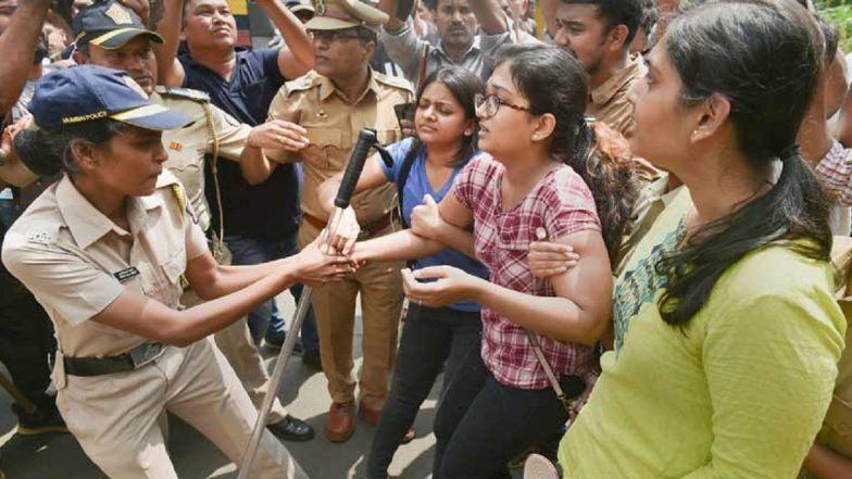 Aarey Protest: आरेतील वृक्षतोडीला विरोध कायम; पर्यावरण प्रेमींकडून दुसऱ्या दिवशीही अंदोलन सुरुच