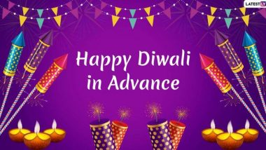 Happy Diwali 2019 In Advance: दिवाळीच्या मराठी शुभेच्छा देण्यासाठी Wishes, WhatsApp Status, GIFs आणि शुभेच्छापत्रं!