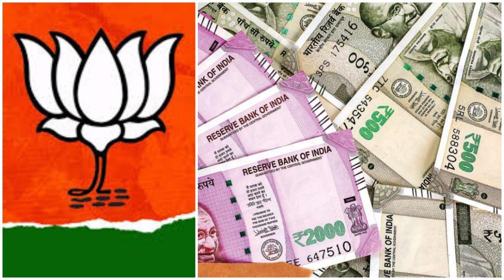 अबब! भाजपकडे पैसाच पैसा.. महाराष्ट्र विधानसभा निवडणुकीत खर्च केली विरोधकांपेक्षा चौपट रक्कम: ADR अहवाल