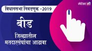 महाराष्ट्र विधानसभा निवडणूक 2019:बीड जिल्ह्यातील मतदार संघाचे उमेदवार, महत्त्वाच्या लढती आणि निकाल, जाणून घ्या