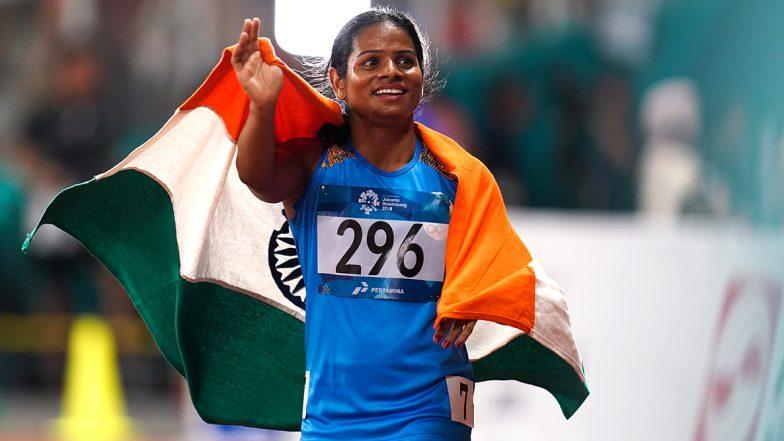 दुती चंद ने 100 मीटर शर्यतीत राष्ट्रीय विक्रम मोडीत जिंकले सुवर्णपदक, ऑलिम्पिकची पात्रता मिळवण्यापासून काही Steps दूर