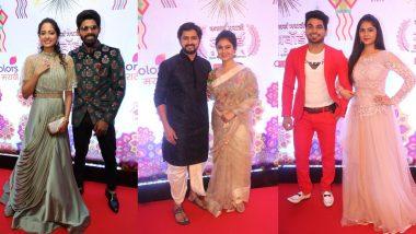 Colors Marathi Awards 2019: पहा कलाकारांचा हा हटके Red Carpet लुक या क्षणचित्रांतून