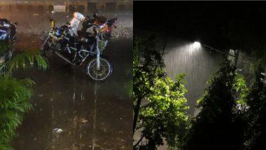 Mumbai Rains: कल्याण डोंबिवलीसह अनेक उपनगरीय भागात जोरदार पाऊस; Watch Videos