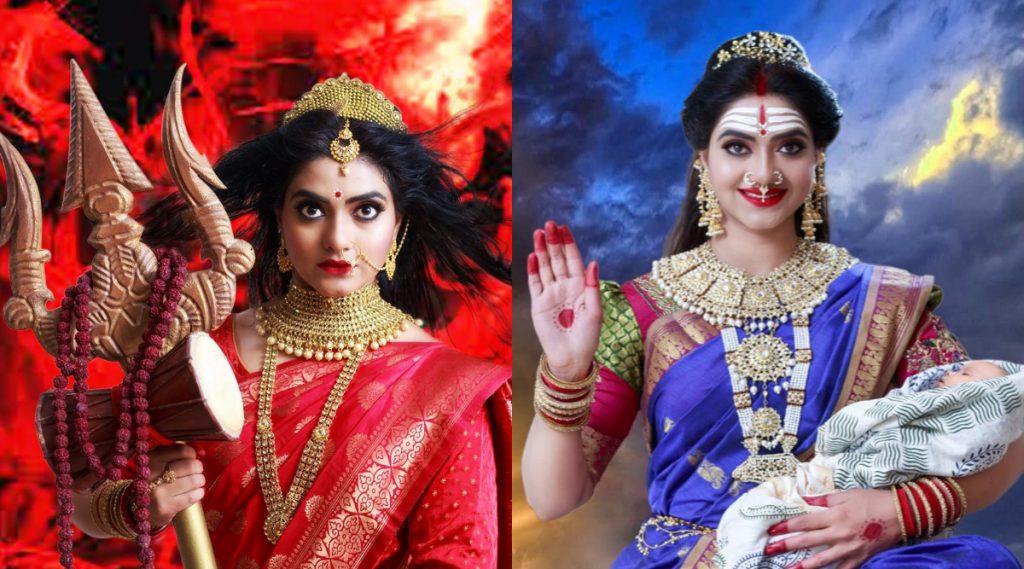 Navratri Special: अभिनेत्री कश्मिरा कुलकर्णीचे नवदुर्गांच्या रूपातील हे खास फोटोशूट