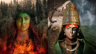 नवरात्री Special फोटोशूटच्या तयारीसाठी Tejaswini Pandit ला लागले तब्बल 27 तास