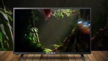 भारतात लाँच झाला सर्वात स्वस्त टीव्ही; 32 इंच टीव्ही फक्त 5 हजार 499 रुपये