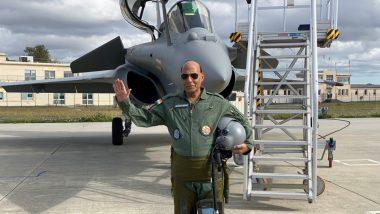 दसऱ्याच्या शुभमुहूर्तावर पहिलं 'Rafale' हे लढाऊ विमान फ्रान्सने केलं भारताला सुपूर्द; पहा Photo