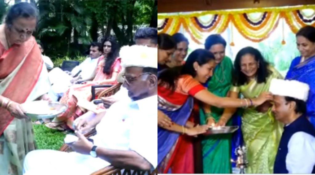 Diwali 2019: शरद पवार यांच्या कुटुंबातील 3 पिढ्यांनी एकत्र येऊन साजरा केली भाऊबीज (Videos Inside)