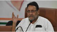 'महाराष्ट्राला लवकरच पर्यायी सरकार मिळणार'- नबाब मलिक