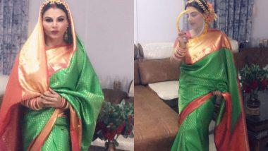 Watch Video: करवा चौथच्या रात्री Rakhi Sawant ला आवरले नाही रडू, कारण...