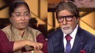 KBC 11: सुनीता कृष्णन यांच्यावर 8 जणांनी केला होता सामूहिक बलात्कार तर 17 वेळा करण्यात आला जीवघेणा हल्ला; वाचा संपूर्ण कहाणी