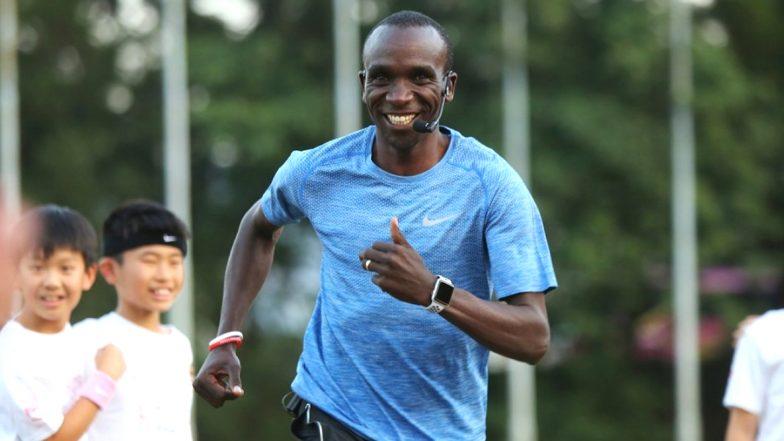 केनियाचा Olympic चॅम्पियन Eliud Kipchoge दोन तासांत मॅरेथॉन पूर्ण करणारा पहिला अॅथलीट, पहा व्हिडिओ