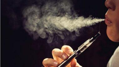 सरकारने जाहीर केला ई-सिगारेट कायद्याचा मसुदा; E-Cigarette बाळगल्यास होऊ शकते 6 महिन्यांची शिक्षा