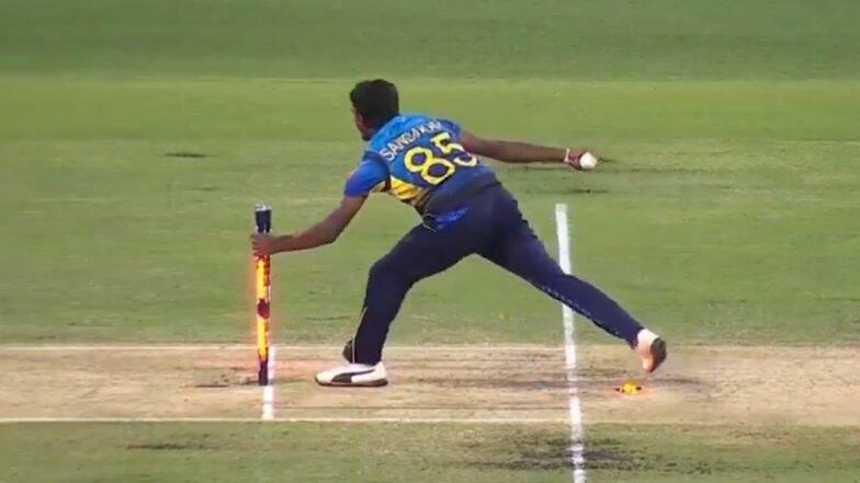 AUS vs SL 2nd T20I:लक्षन संदकन याने स्टिव्ह स्मिथ याला धावबाद करण्याची सुवर्ण संधी गमावल्यानेसोशल मीडियावर झाला ट्रोल, Video